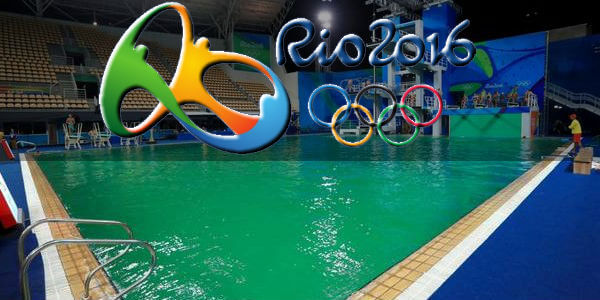 Water quality concerns in Rio Olympics