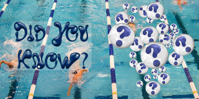 Fun facts for swimmers